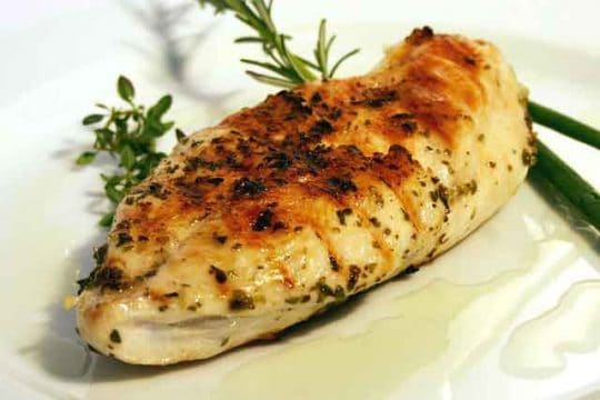 Roasted Chicken Fillet with Sauce Recipe