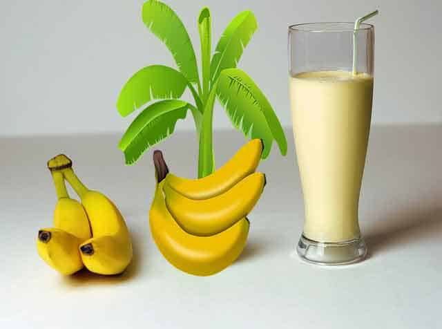 DIY Banana Milkshake Recipe at Home