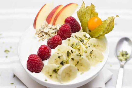 Fruit Salad with Buttermilk Recipe for The Summer