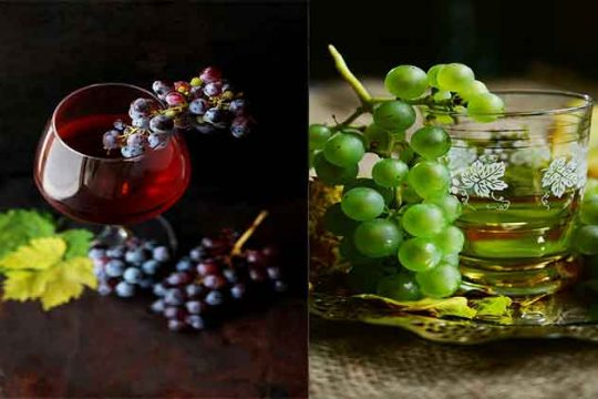 Homemade Fresh Concord Grape Juice Recipe (2 Recipes for Green and Black Grape Juice)