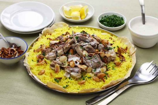 Jordanian Mansaf Recipe