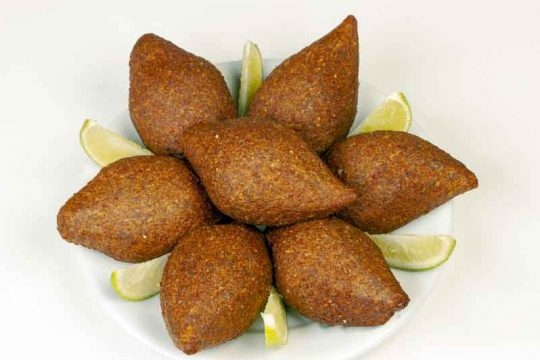 Lebanese Fried Kibbeh Recipe