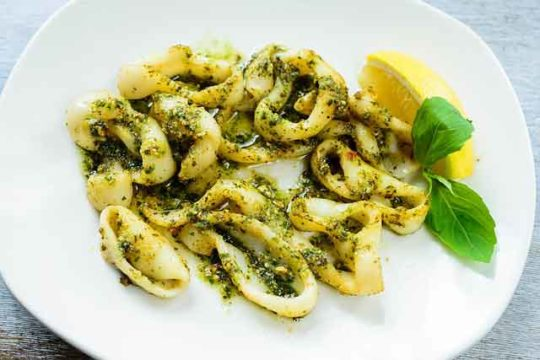 Grilled Calamari Recipe