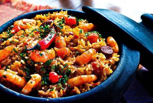 Shrimp and Calamari with Rice Recipe