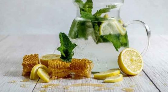 Honey Mint Lemonade Recipe