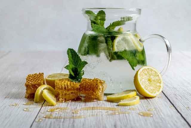 Honey Mint Lemonade Recipe