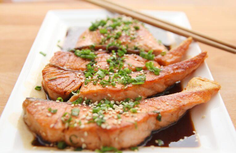 Asian Grilled Salmon Recipe