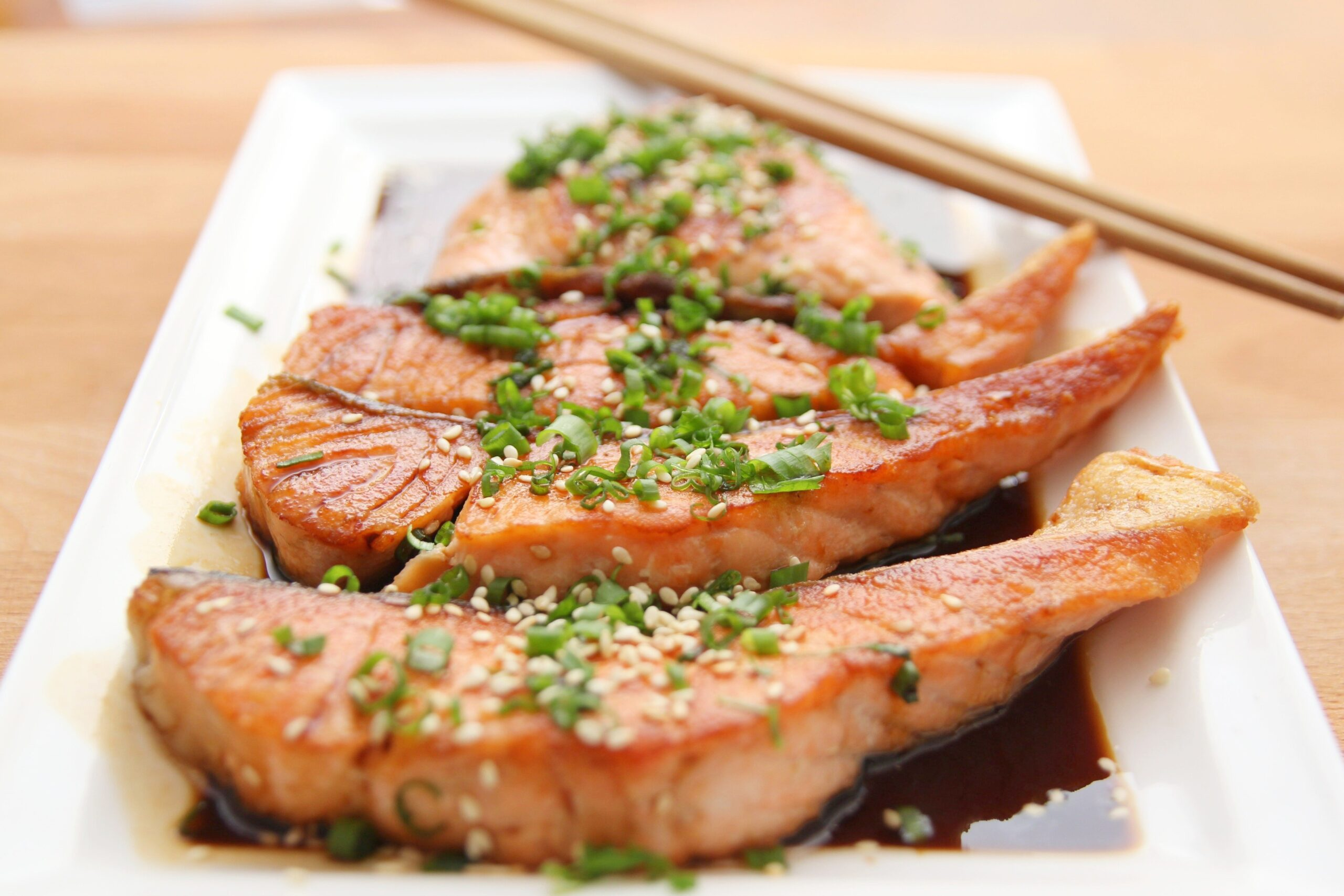 Asian Grilled Salmon Recipe