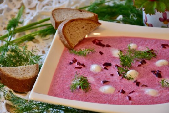Beetroot Soup Recipe