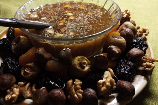 Khoshaf Recipe in Ramadan Month (Dried Fruit Salad Recipe