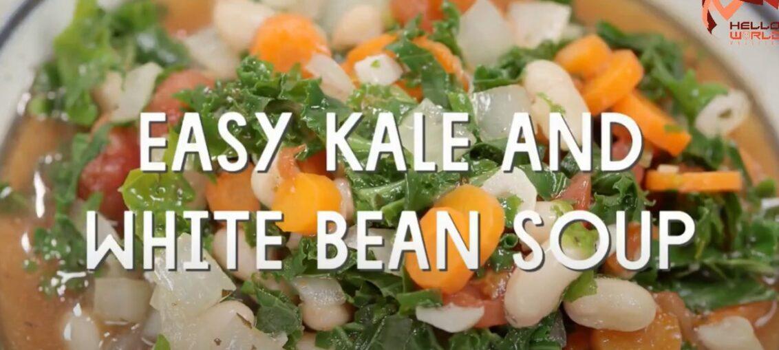 White Beans Recipe Video on Hello World Magazine